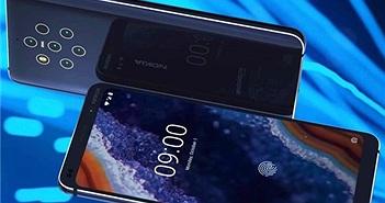 Nokia 9 lộ diện với 5 camera sau, chụp ảnh siêu sáng