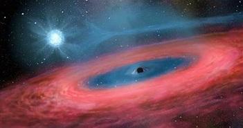 """Sự thật """"sốc"""":Lỗ đen càng nặng càng điên cuồng, """"ăn"""" ngấu nghiến"""