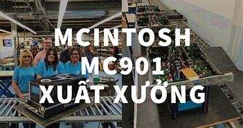 Ảnh thực tế The Big Amp - McIntosh MC901, nặng 77kg, chiều sâu khủng lên đến 750cm!