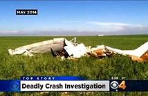 Mỹ: Mải tự sướng, phi công làm rơi máy bay, hai người thiệt mạng