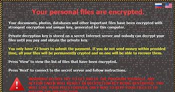 Virus tống tiền CTBLocker giả mạo bản cập nhật Chrome lừa người dùng