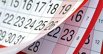 Vì sao tháng 2 dương lịch chỉ có 28 hoặc 29 ngày?