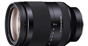 Sony công bố ống kính FE 24-240mm F3.5-6.3 OSS ( SEL24240) cho máy ảnh Full Frame ngàm E