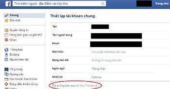Lưu giữ 'đời sống ảo' trên Facebook - chưa bao giờ là muộn