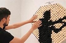 Nghệ sĩ Mỹ biến nhiều loại vật liệu thành gương