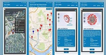 Ứng dụng di động giúp theo dõi tình hình COVID-19 ở Hàn Quốc