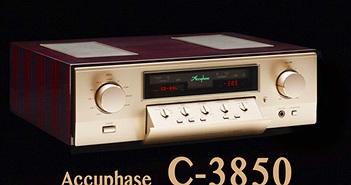 C-3850 - Preamplifier đắt nhất của Accuphase, được chế tạo để trở thành huyền thoại