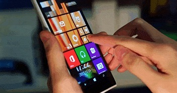 """[Video] Cảm ứng không chạm 3D Touch và Live tile """"bùng nổ"""" trên Nokia McLaren"""