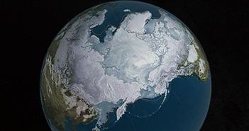 Băng Bắc Cực tan nhanh kỷ lục