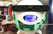 """Kinba - robot """"tiếp tân"""" tại Đại học King's College"""