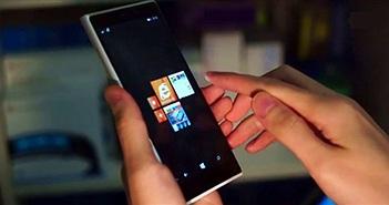 Bí mật của Nokia: điện thoại cảm ứng không chạm chạy Windows Phone