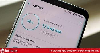 7 cách cải thiện tuổi thọ pin cực hiệu quả trên Galaxy S9 và S9 Plus