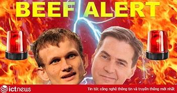 """Nhà sáng lập Ethereum Vitalik Buterin gọi """"cha đẻ"""" Bitcoin là kẻ lừa đảo, ngay lập tức khẩu chiến đã xảy ra"""