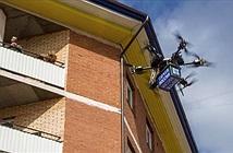 Drone chở bưu phẩm của Nga lao vào tường ngay trong lần thử nghiệm đầu tiên