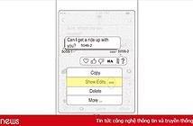 iMessage sẽ có tính năng sửa tin nhắn đã gửi?