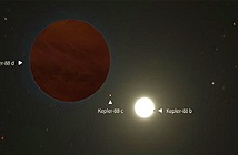 Phát hiện ngoại hành tinh lớn gấp ba lần sao Mộc