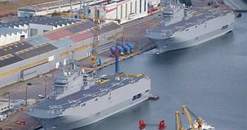 [ẢNH] Hai chiến hạm Mistral xếp hàng chờ… thanh lý