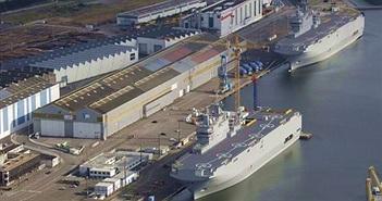 """Tàu chiến Mistral """"bơ vơ"""""""