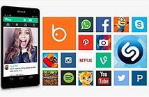 Microsoft dùng ảnh chụp màn hình của Android để giới thiệu Lumia 535