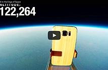 Video Galaxy S6 trở về an toàn từ ngoài Trái Đất