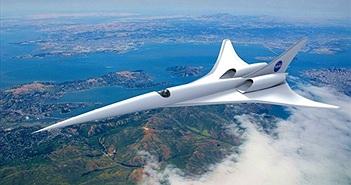 NASA phát triển máy bay siêu thanh với công nghệ vượt trội