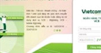 Vietcombank ngừng cung cấp dịch vụ internet banking với trình duyệt IE cũ