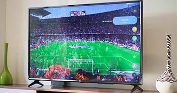 Mở hộp Tivi LG 4K HDR 55 inch, tích hợp Football Edition, giá 17,9 triệu