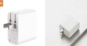 Xiaomi công bố bộ sạc nhanh PD 65W mới, hợp cả MacBook