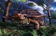 Thức ăn hóa thạch 110 triệu năm trong bụng khủng long
