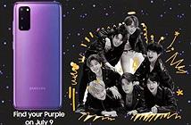 Samsung Galaxy S20+ và Galaxy Buds+ BTS Edition ra mắt ngày 9/7 tới