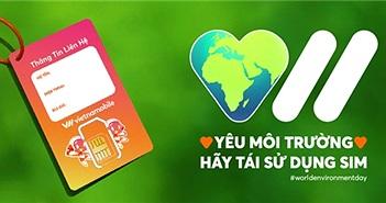 Vietnamobile ra mắt thẻ SIM có thể tái sử dụng, thân thiện với môi trường