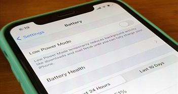 Làm sao để cải thiện thời lượng pin cho iPhone?