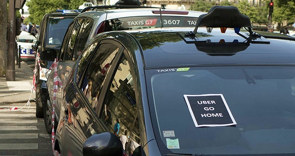 Uber ngừng dịch vụ UberPOP tại Pháp