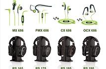 Sennheiser giới thiệu dòng tai nghe Sports và headphone RS