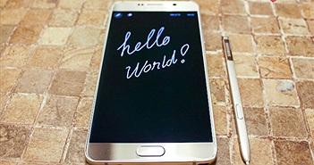 Galaxy Note 5 chính hãng giảm giá còn 15 triệu