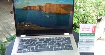 Bộ đôi laptop biến hình Lenovo YOGA về Việt Nam
