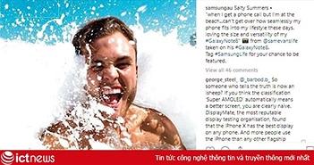 """Samsung """"đánh lừa"""" người dùng về khả năng chống nước trên smartphone"""