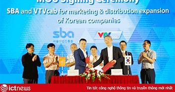VTVcab ra mắt dự án VTVcab MSC hỗ trợ doanh nghiệp Hàn Quốc tiếp thị, phân phối sản phẩm