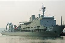 Soi độ khủng của tàu cứu hộ tàu ngầm hiện đại nhất Trung Quốc