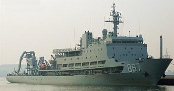 """Soi độ """"khủng"""" của tàu cứu hộ tàu ngầm hiện đại nhất Trung Quốc"""