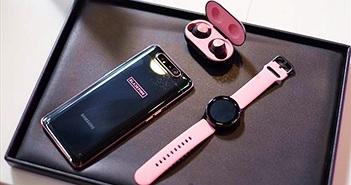 Galaxy A80 phiên bản đặc biệt ra mắt: fan BlackPink chắc chắn không thể 'ngó lơ'