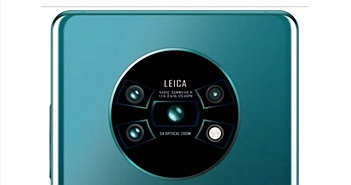 Huawei Mate 30 Pro lộ thiết kế màn hình và camera phía sau khá lạ