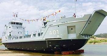 Việt Nam đóng tàu đổ bộ RoRo 5612 cho Bahamas