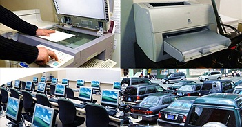 Đưa máy tính, máy in vào Danh mục tài sản mua sắm tập trung cấp quốc gia