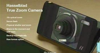 Lộ mô-đun máy ảnh 'khủng' Hasselblad làm cho Moto Z