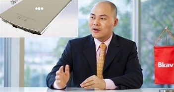 """Clip: CEO Bkav Nguyễn Tử Quảng sẽ """"quăng bom"""" thế nào với BPhone 2?"""