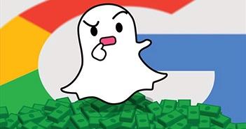 Google từng muốn chi 30 tỉ USD mua lại Snapchat