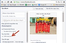 Cách đăng ảnh chất lượng cao lên Facebook