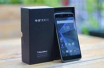 Đập hộp Blackberry Dtek50 chính hãng tại Việt Nam
