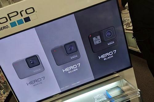 Lộ một số hình ảnh về camera GoPro Hero 7